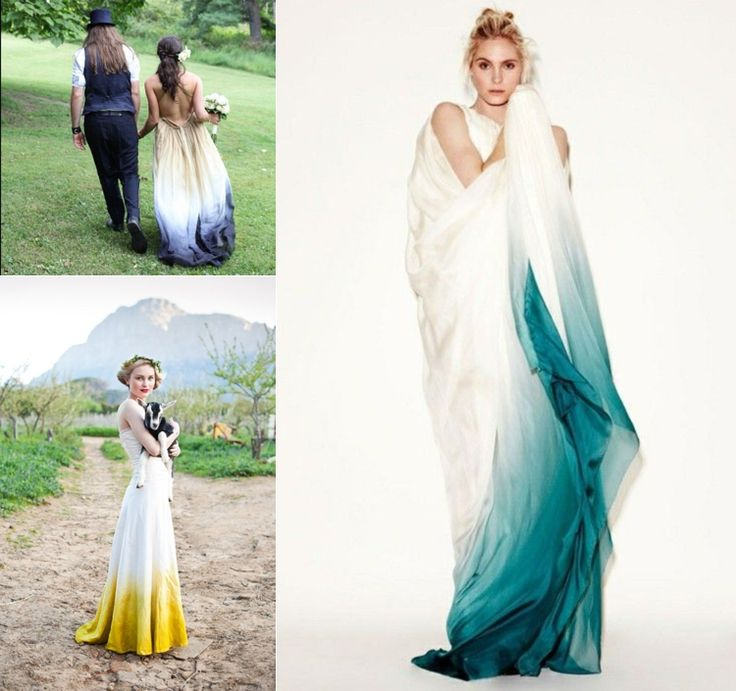 WILL YOU DYE YOUR WEDDING DRESS ? @ Vivian